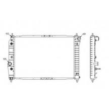 Радиатор охлаждения CHEVROLET AVEO, автомат - 510069N (AKS DASIS)