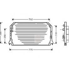 Радиатор кондиционера TOYOTA CAMRY - POLCAR