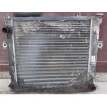 Устранение поломки радиатора на погрузчик