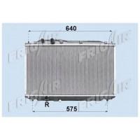 Радиатор охлаждения HONDA CIVIC 06-11 АКП