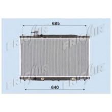 Радиатор охлаждения для HONDA CR-V 06-09