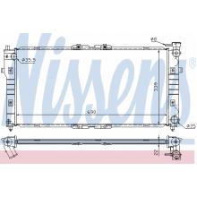 Радиатор охлаждения MAZDA 626 GF 98-00
