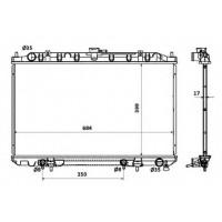 Радиатор охлаждения MAXIMA33 02-03