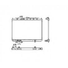 Радиатор охлаждения для NISSAN X-TRAIL T30 01-07