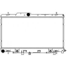 Радиатор охлаждения для SUBARU IMPREZA WRX 2.0