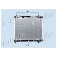 Радиатор охлаждения TOYOTA YARIS06-09