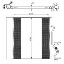 Радиатор кондиционера SMART -  NRF