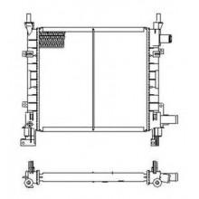 Радиатор охлаждения FORD KA, 54671 NRF