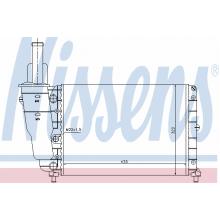 Радиатор охлаждения FIAT PUNTO, 61856