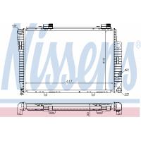 Радиатор охлаждения C-CLASS W202 62752A