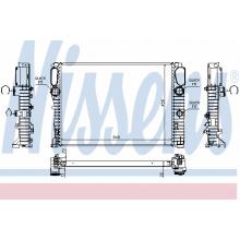 Радиатор охлаждения E-CLASS W211 62797A