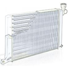 Радиатор для DAEWOO SENS