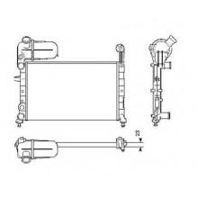 Радиатор охлаждения для фиат темпра с бачком