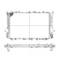 Радиатор охлаждения AUDI 100, AUDI A6 - 481160N (AKS DASIS)