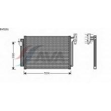 Радиатор кондиционера для БМВ Х5
