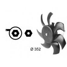 Вентилятор радиатора охлаждения AUDI 80, 90, 100, 200 (POLCAR)